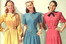 Vintage Fashion - 40s / Gorgeous fashion images from the 1940s