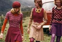 Vintage Fashion - 70s / Gorgeous fashion images from the 1970s