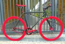 Bicycles / Best Online collection of the world's most beautiful bicycles. That means Mountain bikes, BMX, Track, Road, and fixed, handmade masterpieces and custom commuters.  / by Santiago Martinez