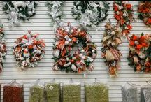 Custom Floral Arrangements / Here at The Christmas Place, we do so many things very well. One of those is custom floral pieces. Our designers are so talented. www.christmasplace.com