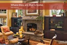 Quotes About Home / There are some wonderful thoughts about our homes, and how they affect our lives. These are some of our favorites. / by Canyon Creek Cabinet Company