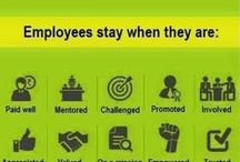 Employee Motivation / Motivating employees begins with recognizing that to do their best work, people must be in an environment that meets their basic emotional drives to acquire, bond, comprehend, and defend. / by ABBTECH Pro. Resources, Inc