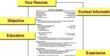 Résumé Examples / These are résumés to give you an idea of what employers are looking for and the creativity to get you noticed!