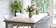 Inspiring Dining / Dining Room design inspiration and styling tips.