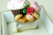 biscuit variados (cold porcelain) / by Audrey