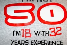 50 / Mieke is 50!! Echt waar. We mochten geen Sara's aanrukken op het werk of '50' op papier uitprinten en de liften mee behangen. Nou, dan maar via internet. MIEKE: gefeliciteerd!  / by Kirsten Jassies