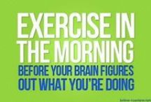 Exercise & Fitness / A trained body is a result of a disciplined mind / by Dynavention Inc.