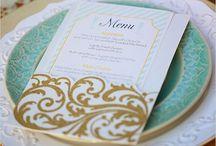 Menu & Escort Cards / by Abby S.