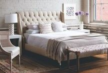 Sweet Dreams / Beautiful bedroom inspiration for peaceful rest and sound slumber.