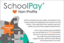 Non-Profit Organizations Love SchoolPay / While SchoolPay is robust enough to serve large districts, we are most proud of the fact that it's EASY! Volunteers for non-profit school groups, such as PTA's, Booster Clubs, Foundations, etc. will not need to be eCommerce experts to use SchoolPay.   #PTA #PTO #PTSA #PTSO #Foundation #Boosters #nonprofits #teachers #ecommerce #finance #school #fundraising #donations #classroom