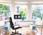 DECORAÇÃO • Home Office