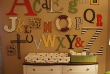 Kid's Rooms and Nurseries / by Katy Steinocher