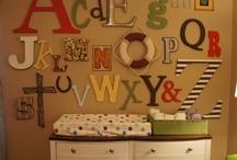 Kid's Rooms and Nurseries / by Katy Steinocher