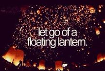 ♥ - Classic Bucket list! - ♥ / The things i really want to do... Let's see what will come true!