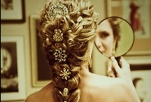 Wedding hair (long hair) / I have long hair (duh), and I don't like putting too much junk in it.  / by Shelbot Solhaug