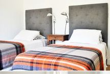 twin beds / by Sarah Stacey Design