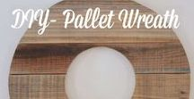DIY PROJECTS / The best DIY and craft projects, ideas, upcycles, refinished wood projects, furniture redos, sewing projects and crafts for inside and outside the home. #diy #diyprojects #palletprojects #paintedfurniture #pallet