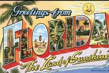 My Florida  / The places and things I loved about living there.