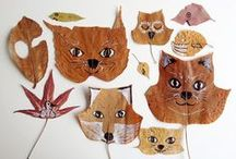 DIY Recycled Crafts / Things to make using cardboard, recycled plastic, etc.