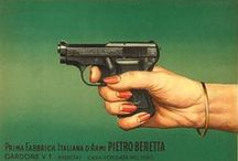 BERETTA Vintage Ads & Posters / Blast from the past! From the BERETTA vaults, a collection of original BERETTA promotional posters and illustrations.
