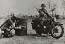 Sidecar&motorcycle WWII