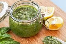 All About Pesto Recipes (Apps, Snacks, Mains) / Recipes made with pesto that are mostly gluten-free, dairy-free, vegan, or vegetarian and most importantly healthy! Think pesto breakfast, pesto lunch and pesto dinner recipes.
