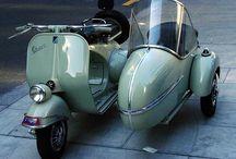 Vespa sidecar & trailer