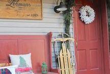 CHRISTMAS & WINTER IDEAS from Lehman Lane / Christmas & Winter Decorating Ideas, Diy & Craft Projects, and Recipes from our Blog, Lehman Lane.  #christmas #winter #christmasdecor