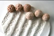 clay crafting techniques / innovative how-to-do's for the clay enthusiast / by See Cunda