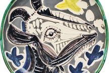 ceramic plates, tiles / by See Cunda