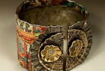 Smashing Bracelets / Bracelets made from smashed stuff.