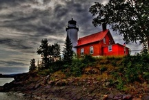 """""""Lighthouses don't fire cannons to call attention to their shining- they just shine.""""  / by Antoinette Seymour"""