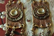 Smashing Earrings / Earrings in a rustic, boho gypsy styel