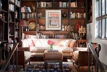 Bookish Paradise / Bookish apartments, rooms, and reading nooks to swoon over.