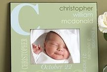 """Oh Baby! Baby Gifts & more! / A new little bundle of joy is a big reason to celebrate with one of our beautiful personalized baby gifts! Check out our great baby gift ideas like nursery decor, crosses, clothing and so much more! As a """"Thank You"""" for following us, use code PMALLPINS at checkout to get free shipping on orders of $65 or more! #Baby #Pregnant #BabyShower #babygift #babyshowergift #newborn #babyphotos #personalizedbabygift #personalized #babyclothes #personalizedbaby #babyblanket #babysign #nurserydecor"""
