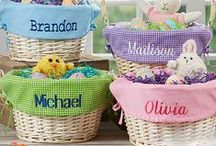"""Easter! / Personalized Easter Baskets, Kids Apparel, decorations and much more! #Easter #Easterdecor #EasterEggs #EasterBasket #EasterBunny #eastergift #personalizedeaster #personalized #easterbasketstuffer As a """"Thank You"""" for following us, use code PMALLPINS at checkout to get free shipping on orders of $65 or more!"""