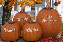 Fall and Thanksgiving! / Personalized Fall Home Decor Ideas and great recipes and ideas for Thanksgiving, too!