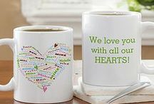 """Coffee, Tea and warm drink lovers / The only thing better than sipping your morning coffee or tea is drinking it out of a mug that you designed yourself! PMall has tons of romantic, pretty, funny, and professional designs! As a """"Thank You"""" for following us, use code PMALLPINS at checkout to get free shipping on orders of $65 or more! Make sure you check out our entire Personalized Coffee Mug Store at PMall, too! #Coffee #Tea #Mug #CoffeeMug #personalized #pmallgifts #personalizationmall #personalized #personalizedmug"""