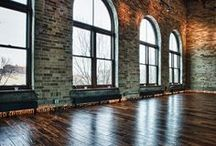 Loft: Big Room / i trynna find inspirations for my new house - old carpentry workshop:)