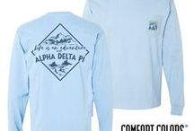 Alpha Delta Pi (ADPi) / Alpha Delta Pi T Shirts, Sweatshirts, Gifts, and Gear