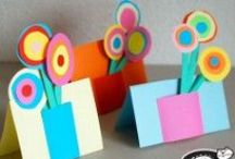 I Love MOM! / Show mom how great she is with a homemade craft. #MothersDay  / by ASTROBRIGHTS®