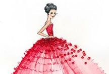 Fashion Illustrations / exquisite fashion illustrations of the most talented