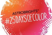 #25DaysofColor / Bright and bold, ASTROBRIGHTS® features 25 Vibrant Shades of Color Paper guaranteed to make you stand out! Check out these colors in use in the classroom and then show us how you #colorize ! #ColorizeYourClassroom