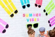 #Colorize | Summer / Let's look at all the fun ways to #colorize during the summer from activities to do at the kids at home to having a super fun Fourth of July party!
