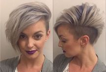 """.hair / """"a woman who cuts her hair is about to change her life"""" -Coco Chanel   hairstyles   haircut   ideas   inspiration"""
