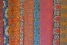 Hooey Batiks' designs on Spoonflower / Original batik photographed or scanned to Spoonflower. Too much fun!