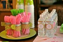 """.diy [parties] / """"liiike I ever throw parties... [maybe some day?]""""   party   decor   ideas   information   tips   decorations   tablescapes   craft   DIY"""