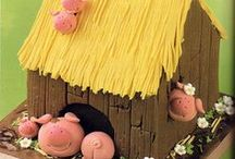 Piggy Eatable ~ Cake / Cupcake / Cookie