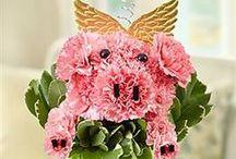 Piggy Flower Bouquets