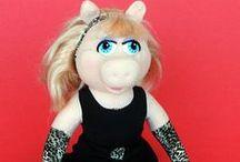 MISS PIGGY & BABY PIGGY